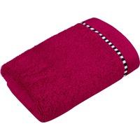 Esprit Box Solid Gästehandtuch (3x30x50cm) raspberry