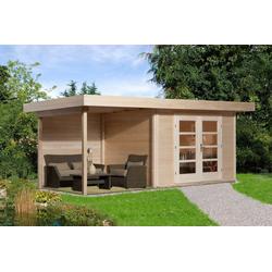 weka Gartenhaus Chill-Out Gr.1, BxT: 585x284 cm, (Set)