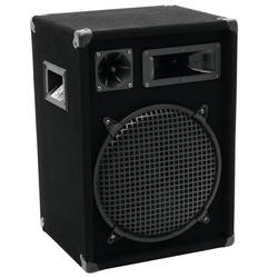 600 Watt 3-Wege PA Box Lautsprecher Einzellautsprecher DJ OMNITRONIC DX-1222 - NUR 1 BOX