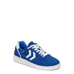 Hummel Hb Team Suede Niedrige Sneaker Blau HUMMEL Blau 36