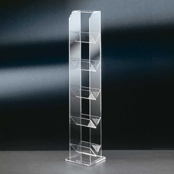 CD Regal aus Acrylglas modern