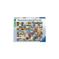 Ravensburger Puzzle Puzzle 99 Fahrräder und mehr..., 1.500 Teile, Puzzleteile