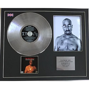 Century Music Awards 2Pac Platin-CD Single + Foto - How Do U Want It