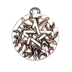 Adelia´s Amulett Magische Pentagramme Talisman, Feuer-Pentagramm - Leidenschaft, Energie und Mut