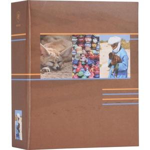 Henzo Minimax 100 Fotos Earth mittelbraun Fotoalbum, Pappe, 13 x 18 x 6 cm