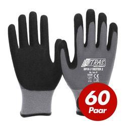 NITRAS 8910 Dexter 2 Mechanikerhandschuhe Werkstatthandschuhe Handschuhe 60 Paar - Größe:10