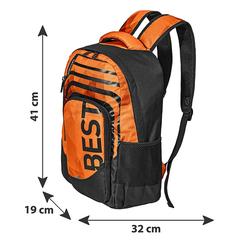 BESTLIFE Rucksack BREVIS orange mit Laptopfach bis 15,6 Zoll