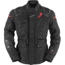 Furygan Vulcain 3in1 Textiljacke, schwarz-rot, Größe S