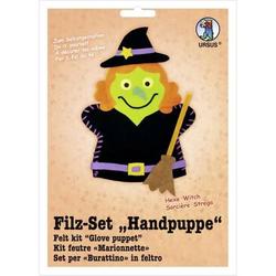 Filzset Handpuppe Hexe