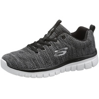 SKECHERS Graceful - Twisted Fortune dark grey/ white, 39