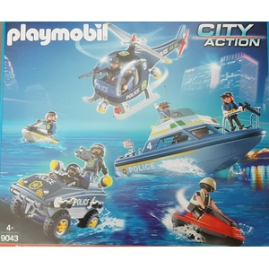 Playmobil 9043 City Action Polizei Set SWAT US Polizei Police Neu/Ovp