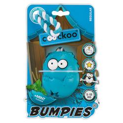 Coockoo Hundespielzeug Bumpies mit Seil Mint, Maße: 8,5 x 6,8 x 5,8 cm