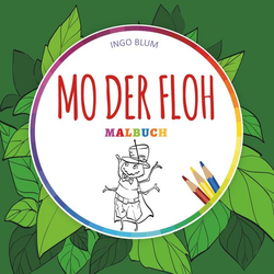 Mo der Floh - MALBUCH