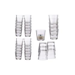 relaxdays Teelichthalter 36 x Teelichtgläser