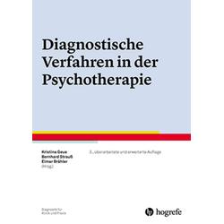 Diagnostische Verfahren in der Psychotherapie: Buch von