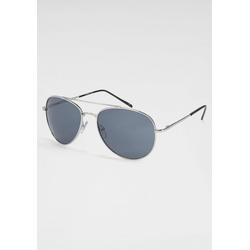 PRIMETTA Eyewear Sonnenbrille im Aviator Style silberfarben