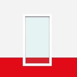Festverglasung Fenster fest im Rahmen | Milchglas (matte Folie)