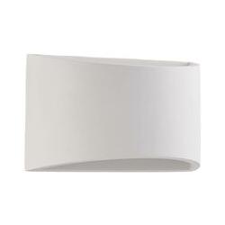 LED-Wandleuchte Heiko aus Gips