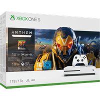 Microsoft Xbox One S 1TB weiß + Anthem (Bundle)