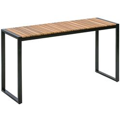 Dehner Gartentisch Balkontisch Chicago Wood,133 x 74.5 x 42 cm