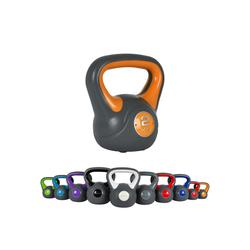 MSports® Kettlebell Kettlebell Kunststoff gelb