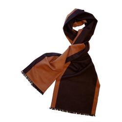 Posh Gear Seidenschal Seiden Schal Silk Bicolor aus 100% Seide gelb