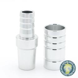 Amy Deluxe Aluminium Schliffadapter (Silber)