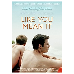 Like you mean it, 1 DVD (englisches OmU)