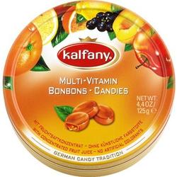 Kalfany Mulit Vitamin Bonbons mit Aprikosenfüllung Candies 150 g