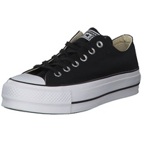Converse Chuck Taylor All Star Platform Low Top black/black/white 42,5