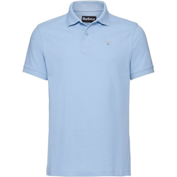Barbour Poloshirt Polo Crest blau 3XL