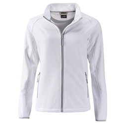Damen Softshelljacke | James & Nicholson white L