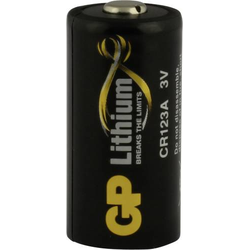 GP Batteries DL123A Fotobatterie CR-123A Lithium 1400 mAh 3V 1St.