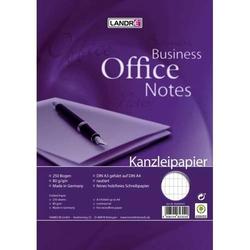 Kanzleipapier Office A3/A4 80 g/qm rautiert ohne Rand
