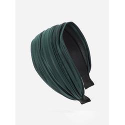 axy Haarreif Breiter Haarreif Wunderschön, Damen Breiter Haarreif Haarband Haarreifen grün
