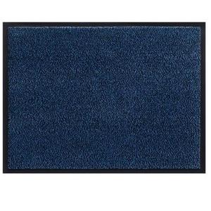 Schmutzfangmatte Fussmatte 60 x 90 cm schwarz-blau