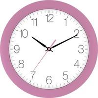 EUROTIME 88800-22-2 Quarz Wanduhr 30cm x 4.5cm Schleichendes Uhrwerk (lautlos)