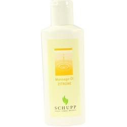 Massageöl Zitrone