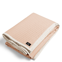 Bias Quilt Tagesdecke 235 x 245 cm Nude  Hay