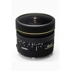 SIGMA 8mm 1:3,5 EX DG Fisheye Nikon Objektiv