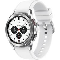 Samsung Galaxy Watch4 Classic 46 mm silver Ridge Sport Band silver
