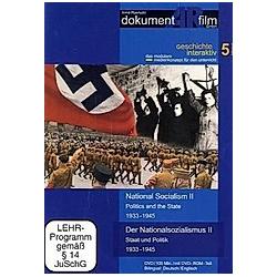 Der Nationalsozialismus II / The National Socialism II  1 DVD - DVD  Filme