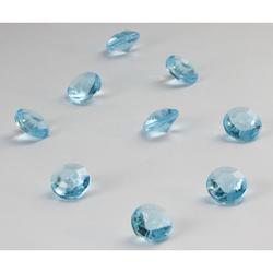 Deko Diamanten Dekosteine Tischdeko Dekoration 10mm - türkis