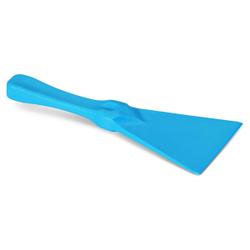 Spachtel nach HACCP, Spachtel aus Kunststoff, Breite 110 mm, Besatzfarbe: blau