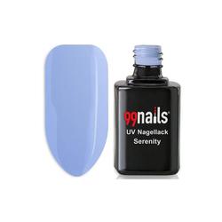 UV Nagellack - Serenity 12ml - UV Lack Gel Nagellack Gellack Gel Lack Led Nagellack Blau Hellblau