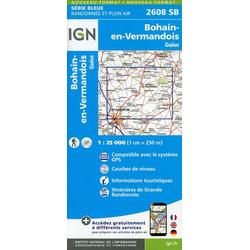 Bohain-en-Vermandois- Guise 1:25 000