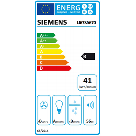 Siemens LI67SA670 Flachschirmhaube 60 cm