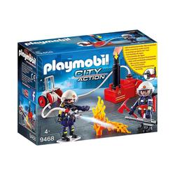 Playmobil® Spielfigur PLAYMOBIL® 9468 Feuerwehrmänner mit Löschpumpe