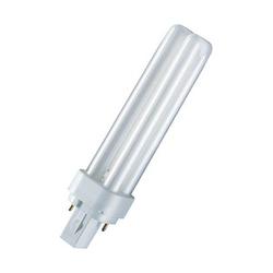 OSRAM Energiesparlampe DULUX D G24 d-2 18 W matt