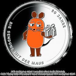 20 Euro Sammlermünze 50 Jahre Sendung mit der Maus 2021